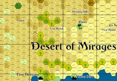 The Desert of Mirages – Entrance to the Great Eastern Desert